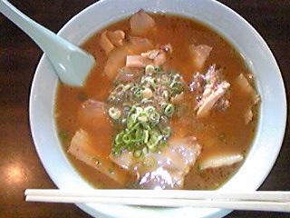 一仙 チャーシュー麺081027