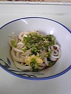 彦江製麺所 かけうどん(ダシ少な目)080827
