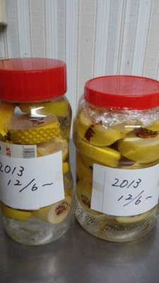 2013-12カリン酒2