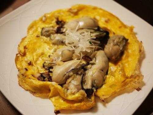 美味しんぼ 牡蠣のオムレツ
