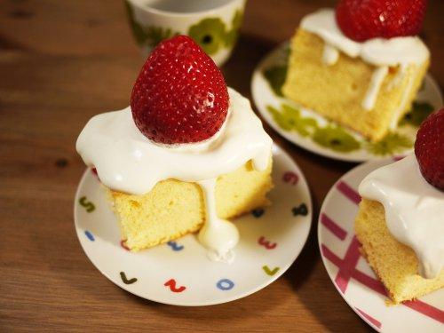 マンモスイチゴのショートケーキ
