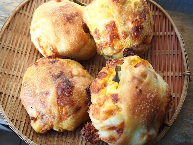 かぼちゃチーズパン3