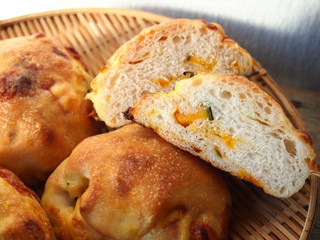 かぼちゃチーズパン5