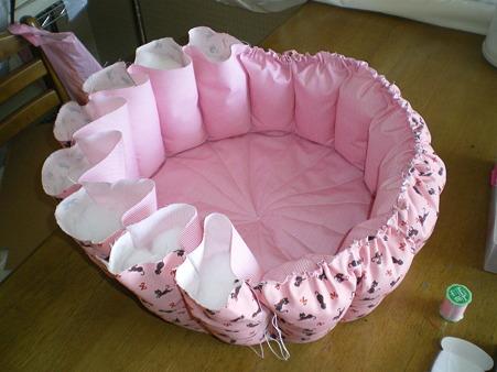 pinkベッド