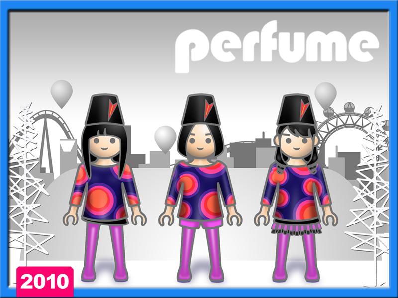 Perfume イラスト 東京ドームへの意気込み
