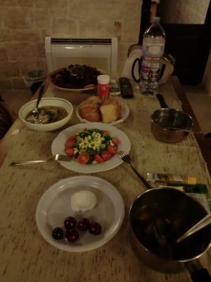 プーリア野菜の食卓