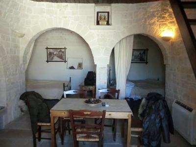 宿泊したトゥルッリ内部