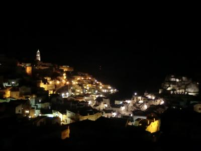 マテーラの夜景