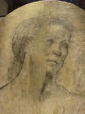 リッピの聖母子像の裏側
