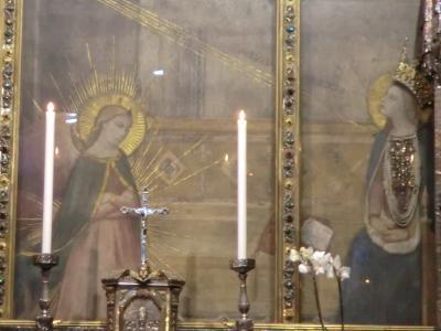 サンティッシマ・アンヌンツィアータ教会 天使の描いたマリア像