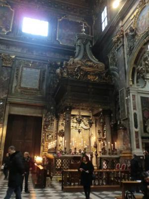 サンティッシマ・アンヌンツィアータ教会 小礼拝堂
