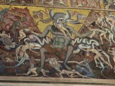 サン・ジョヴァンニ洗礼堂 悪魔大王