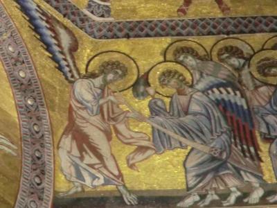 サン・ジョヴァンニ礼拝堂 ラッパを吹く天使