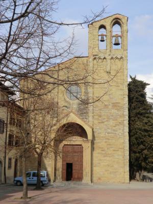 アレッツォ サン・ドメニコ教会