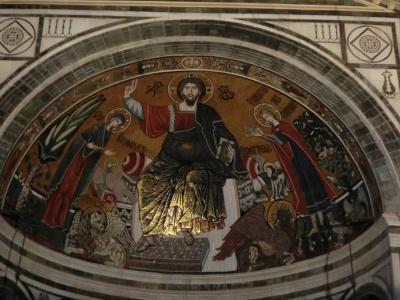 サン・ミニアート・アル・モンテ教会 モザイク