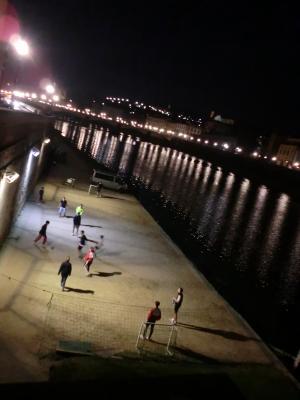 アルノ川の夜景1