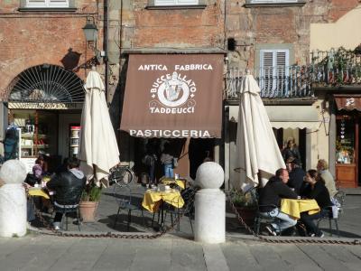 ルッカ Pasticceria Taddeucci