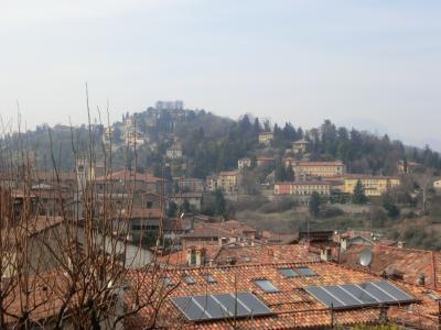 ベルガモ 城壁からの眺め