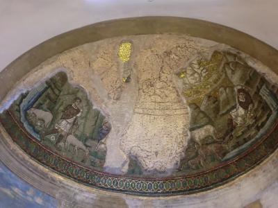 ミラノ サン・ロレンツォ・マッジョーレ教会モザイク