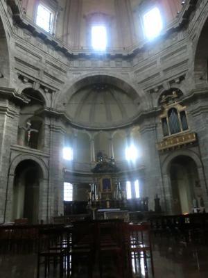ミラノ サン・ロレンツォ・マッジョーレ教会内部