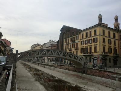 ミラノ ナヴィリオ運河