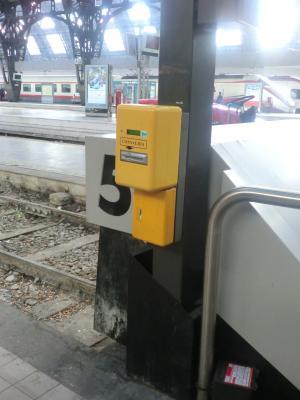イタリア鉄道の刻印機