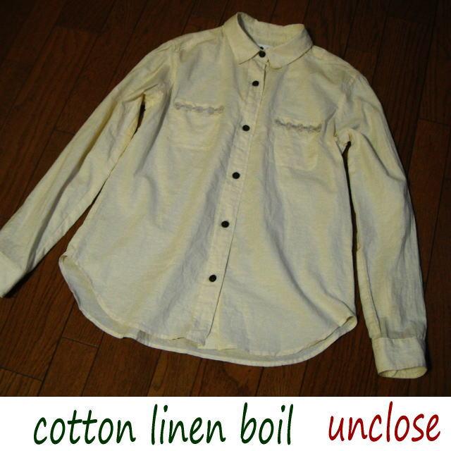 コットンリネンボイルで作ったシャツ