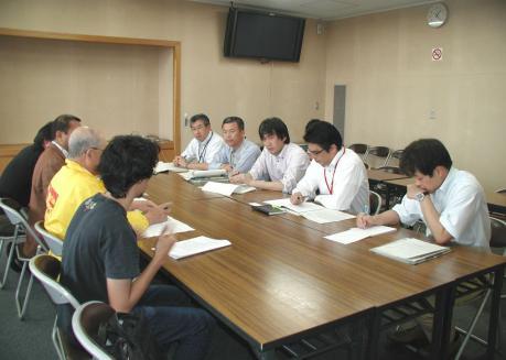 最賃1000円・三重県申し入れ・2012/6/13