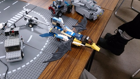 謎の戦闘機
