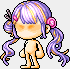 38736毛糸ツイン(紫)