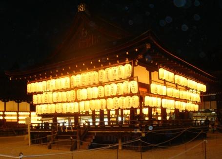 下鴨神社提灯