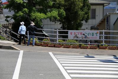 2010-05-29_EOS 7D_1476、「花いっぱい運動、神石高原商工会油木支部女性部」、2010.5.29.、油木、5