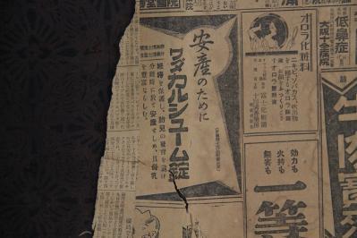 2010-06-02_EOS 7D_1737、「古民家の板戸」、襖絵の下張、8