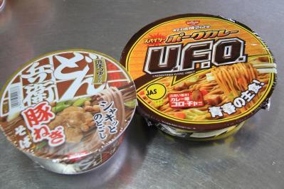 2010_07_26EOS 7D4010、日清食品「U.F.O.、スパイシー・ポークカレー」&「どん兵衛、豚ねぎそば」、
