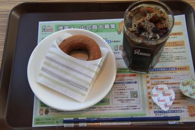 2010_08_19EOS 7D5591、2010.8.19.ミスタードーナツ、広島限定「もみド=もみじ饅頭ドーナツ、小倉」、1