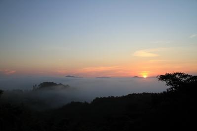 2010-09-03_EOS 7D_4509、2010.9.3.、神石高原町永野・雲海の里、「雲海と日の出」、5