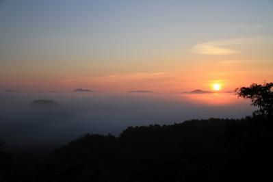 2010-09-03_EOS 7D_4521、2010.9.3.、神石高原町永野・雲海の里、「雲海と日の出」、10