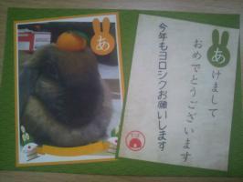 2011/ウサギ賀状