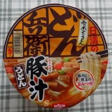 どん兵衛 豚汁うどん 128円