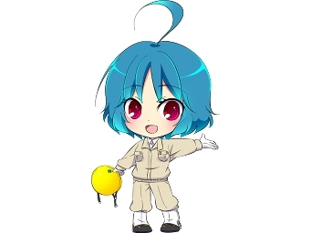 玉掛けキャラクター安在玉姫