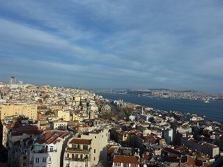 ガラタ塔からの眺め-1