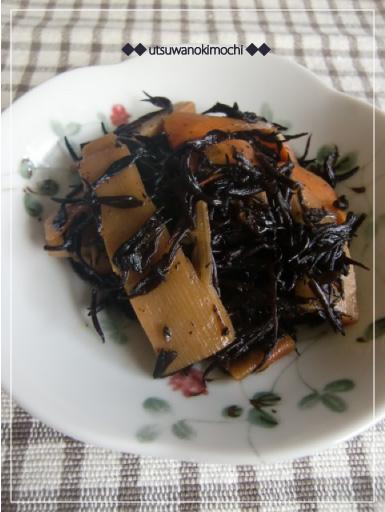 メンマとひじきの炒め煮_2