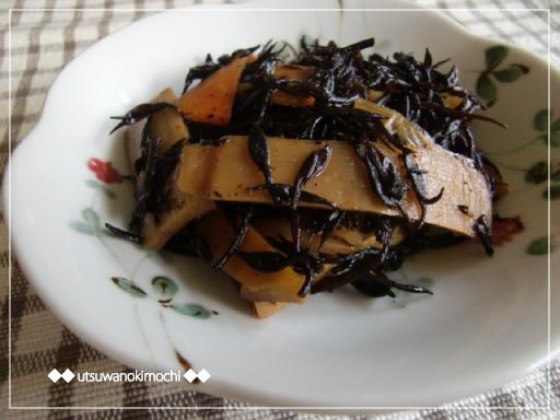 メンマとひじきの炒め煮_1
