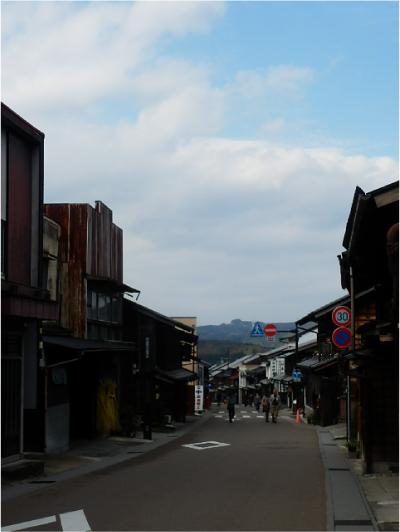 岩村町の古い町並み