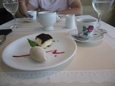 ホキ美術館 レストラン デザート