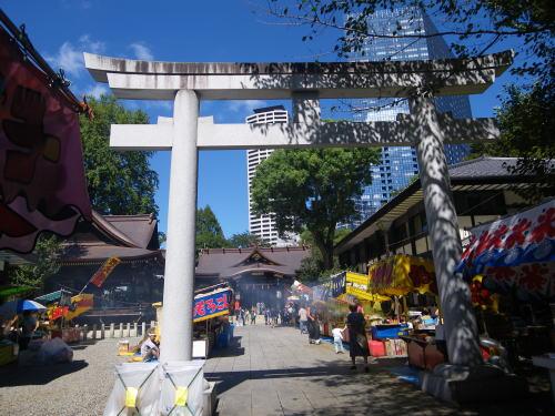 熊野神社 縁日