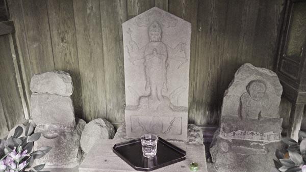 淀橋庚申堂の像
