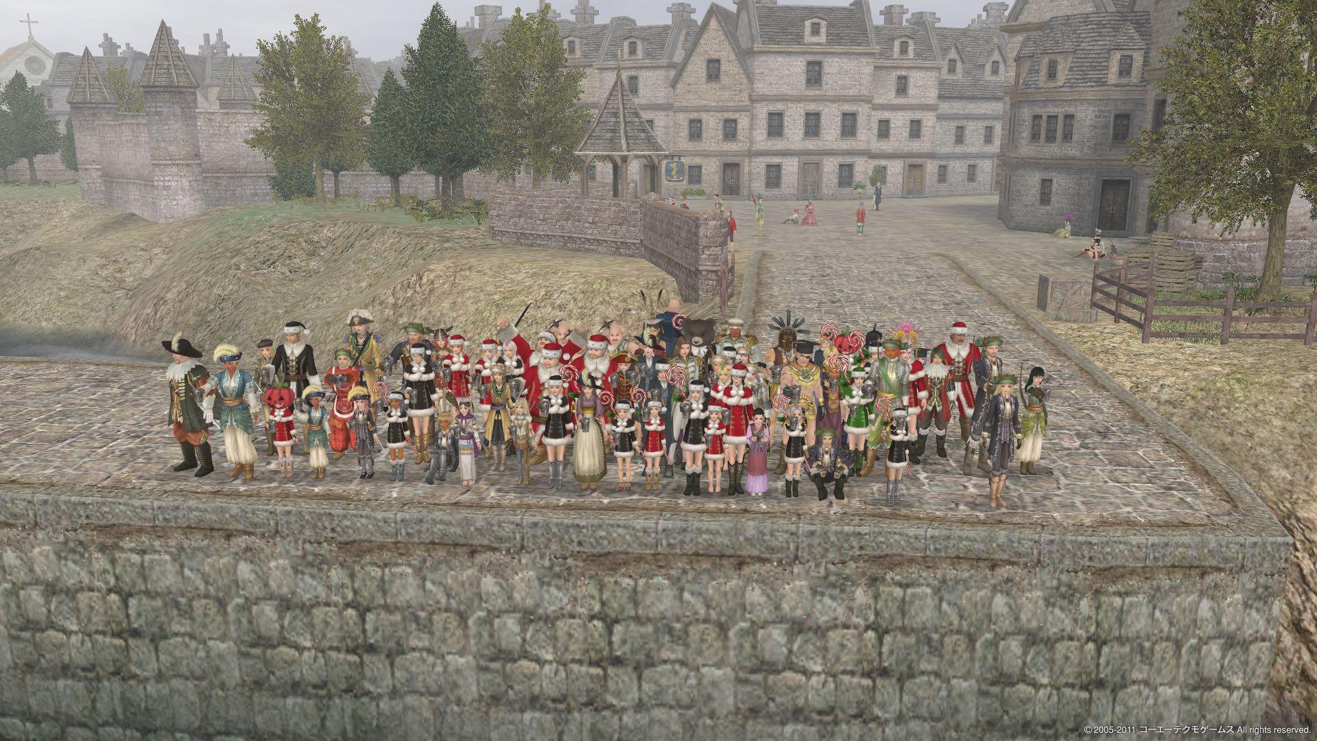 クリスマス大海戦記念写真