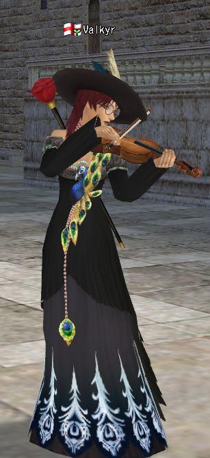 黒孔雀とバイオリン
