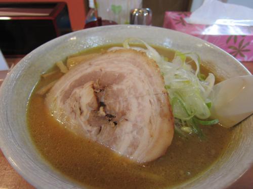 みそカレーラーメン 中太麺 ¥730